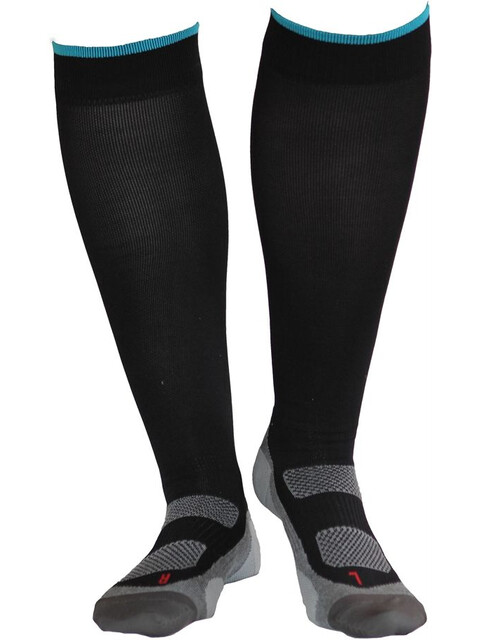 Gococo Compression Superior Black/Turquoise (01)